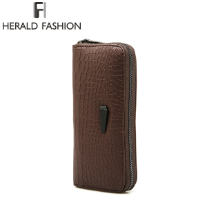 Herald Fashion Ladies Brand Handy Long Wallet Women Luxury Leather Credit Card Holder Money Wallets and Purse for Female Girls