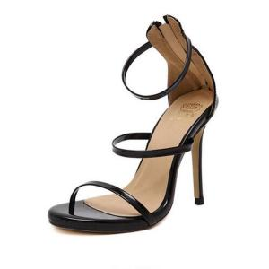 New Arrived Vogue Women Shoe Celebrity ClAnkle Strap High Heel Sandals Sexy Stiletto/Party Wedding Shoes Plus Size