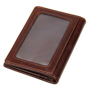 Unsex Card Holders 100% Genuine Leather Credit Card Holders ID Holders Small Coin Purse Male Wallets