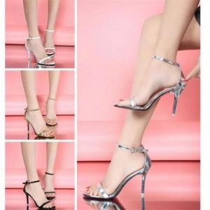 Woman Summer Shoes Supermodel T-stage Classic Dancing High Heel Sandals Sexy Stiletto/Party Wedding Shoes