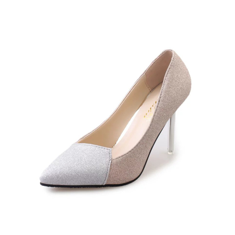 2016 Women High Heels Sexy Bride Pointed Toe Red Bottom