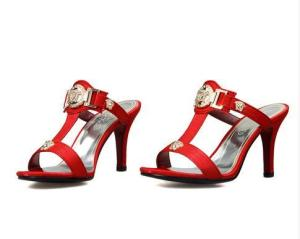 sandals Big size 32-43 high quality new fashion women casual sequined high heels sandals 4 colors