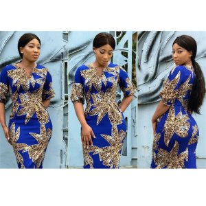 Traditional African Dashiki Woman Leopard Printed Dress V-neck Fashion Fit Clothing  New Casual Bazin Party Dresses